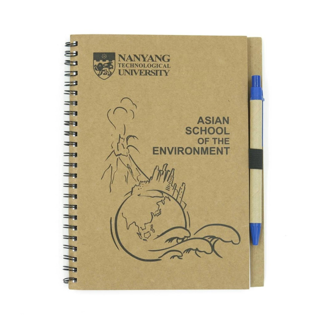 NTU Ring Binded Notebook with Pen (1)