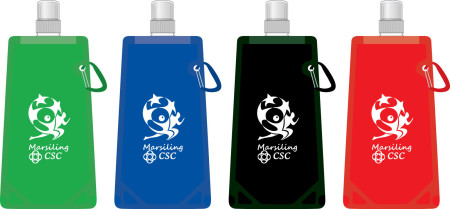 PA Foldable Water Bottles mockup