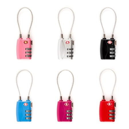 Wire TSA Lock - Simplicity Gifts - Corporate Gifts Singapore - simplicitygifts.com.sg