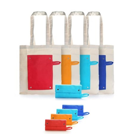 Foldable Canvas Bag - Simplicity Gifts - Corporate Gifts Singapore - simplicitygifts.com.sg
