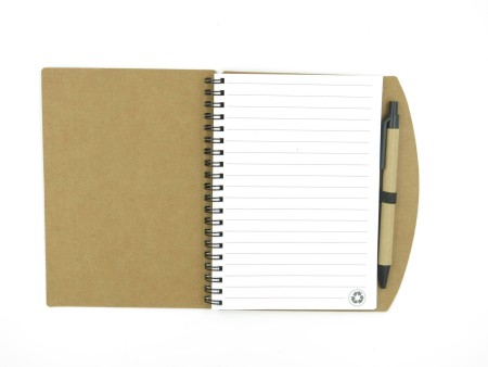 Ring Binded Notebook with Pen (3)