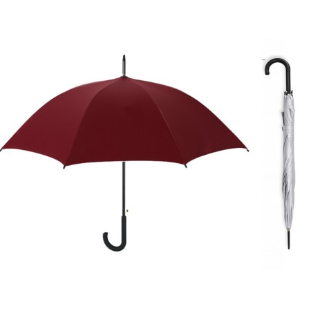 24 Inch Long J-Hook Umbrella Simplicity Gifts - Corporate Gifts Singapore - simplicitygifts.com.sg