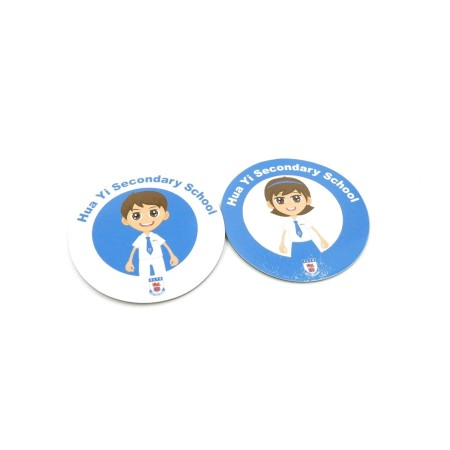 Fridge Magnets - Hua Yi Sec Sch - Simplicity Gifts - Corporate Gifts Singapore - simplicitygifts.com.sg