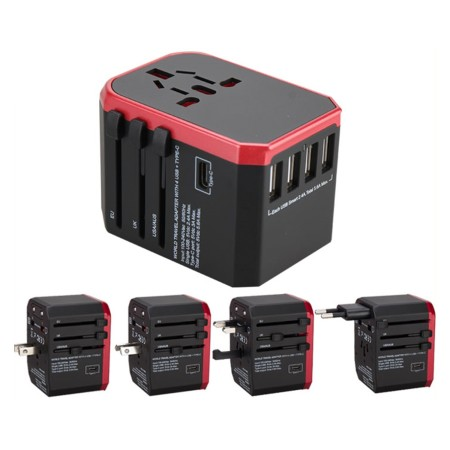 5 Ports USB C Travel Adapter - Simplicity Gifts - Corporate Gifts Singapore - simplicitygifts.com.sg