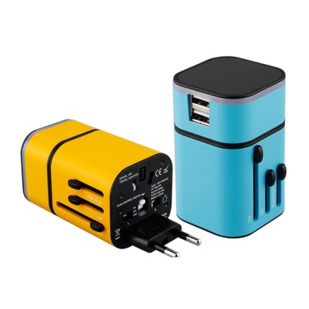 LED Travel Adapter - Simplicity Gifts - Corporate Gifts Singapore - simplicitygifts.com.sg