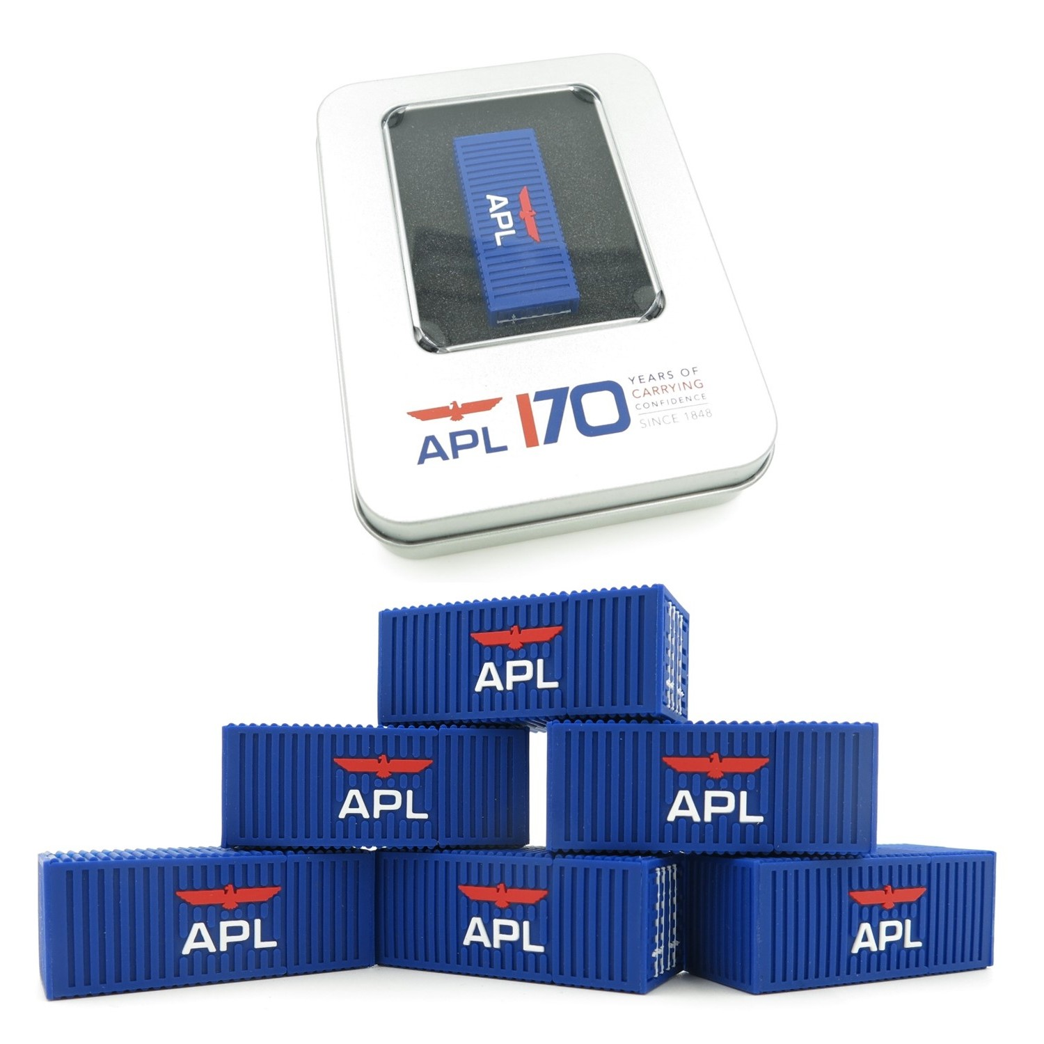 APL - Customised 3D USB thumbdrive - Simplicity Gifts - Corporate Gifts Singapore - simplicitygifts.
