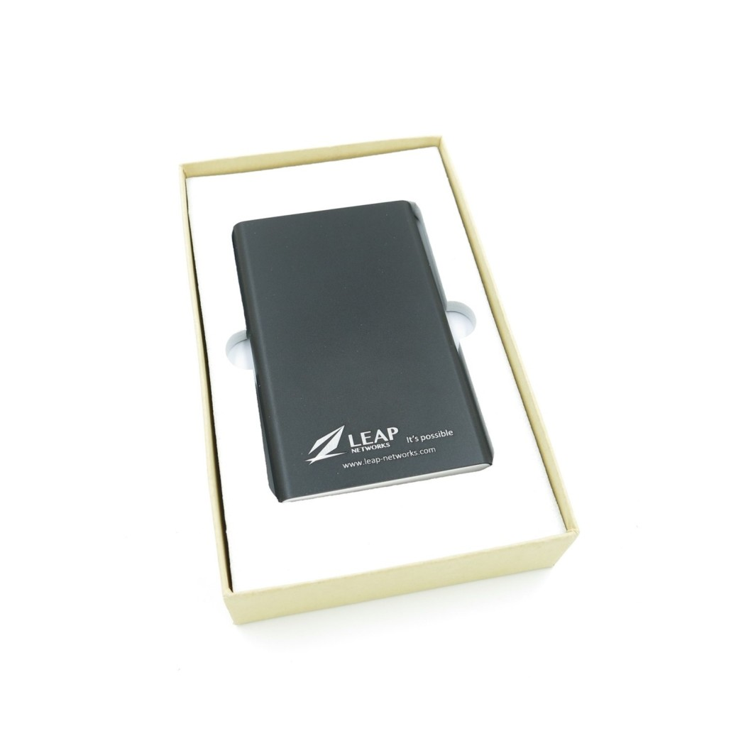 Leap Networks - 5000mah Lithium Series Powerbank - Simplicity Gifts - Corporate Gifts Singapore - simplicitygifts.com.sg