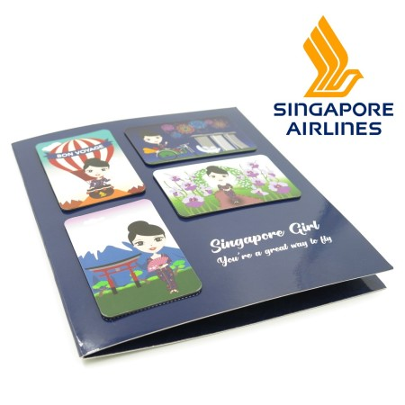 Singapore Airlines - Fridge Magnets set - Simplicity Gifts - Corporate Gifts Singapore - simplicitygifts.com.sg (2)