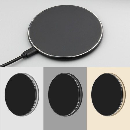 10W Trio Qi Wireless Fast Charger - Simplicity Gifts - Corporate Gifts Singapore - simplicitygifts.com.sg