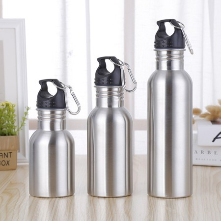 350mL 500mL 600mL Classic Stainless Steel Sports Bottle - Simplicity Gifts - Corporate Gifts Singapore - simplicitygifts.com.sg (1)