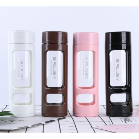 360mL Mini Tea Infuser Glass Bottle - Simplicity Gifts - Corporate Gifts Singapore - simplicitygifts.com.sg