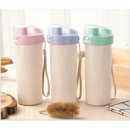 500mL Nozzle Wheat Water Bottle - Simplicity Gifts - Corporate Gifts Singapore - simplicitygifts.com.sg