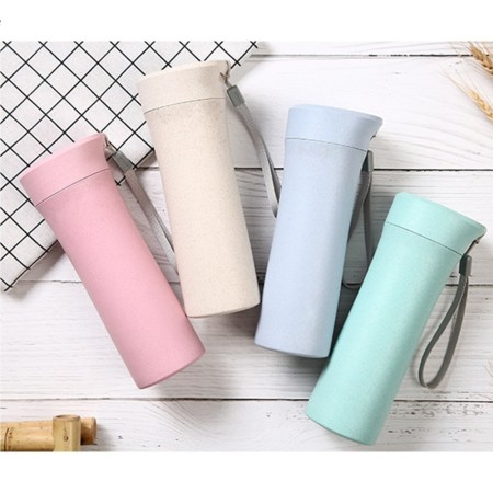 500mL Quad Wheat Water Bottle - Simplicity Gifts - Corporate Gifts Singapore - simplicitygifts.com.sg