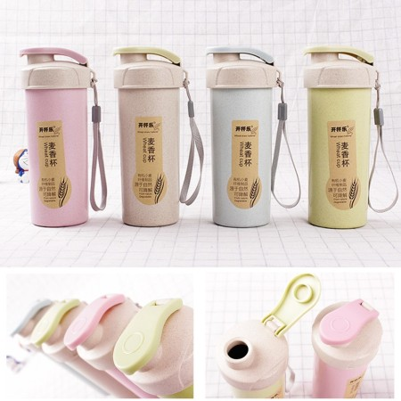 500mL Wheat Gym Bottle - Simplicity Gifts - Corporate Gifts Singapore - simplicitygifts.com.sg