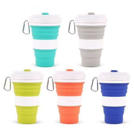 550mL Foldable Silicone Tumbler - Simplicity Gifts - Corporate Gifts Singapore - simplicitygifts.com.sg