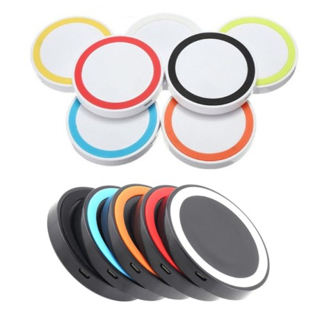 5W Rainbow Qi Wireless Charger - Simplicity Gifts - Corporate Gifts Singapore - simplicitygifts.com.sg