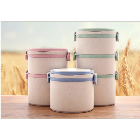 Wheat Food Container - Simplicity Gifts - Corporate Gifts Singapore - simplicitygifts.com.sg