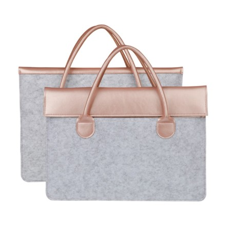 Champ Felt Laptop Bag with Handle - Simplicity Gifts - Corporate Gifts Singapore - simplicitygifts.com.sg