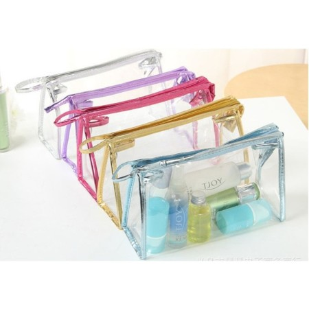 Clear Toiletries Pouch - Simplicity Gifts - Corporate Gifts Singapore - simplicitygifts.com.sg