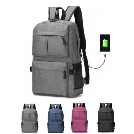 Graphite Laptop Backpack - Simplicity Gifts - Corporate Gifts Singapore - simplicitygifts (1)