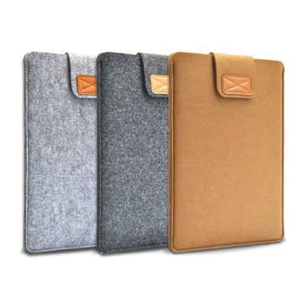 Klassic Felt Laptop Case with Buckle - Simplicity Gifts - Corporate Gifts Singapore - simplicitygifts.com.sg