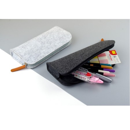Klassic Felt Stationery Case with Zip - Simplicity Gifts - Corporate Gifts Singapore - simplicitygifts.com.sg
