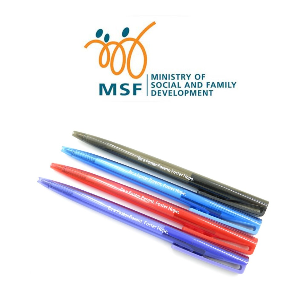 MSF - Customised Ball Pen - Simplicity Gifts - Corporate Gifts Singapore - simplicitygifts.com.sg (1)