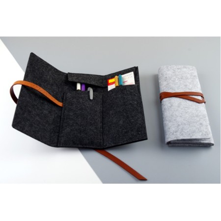 Modern Felt Stationery Case - Simplicity Gifts - Corporate Gifts Singapore - simplicitygifts.com.sg