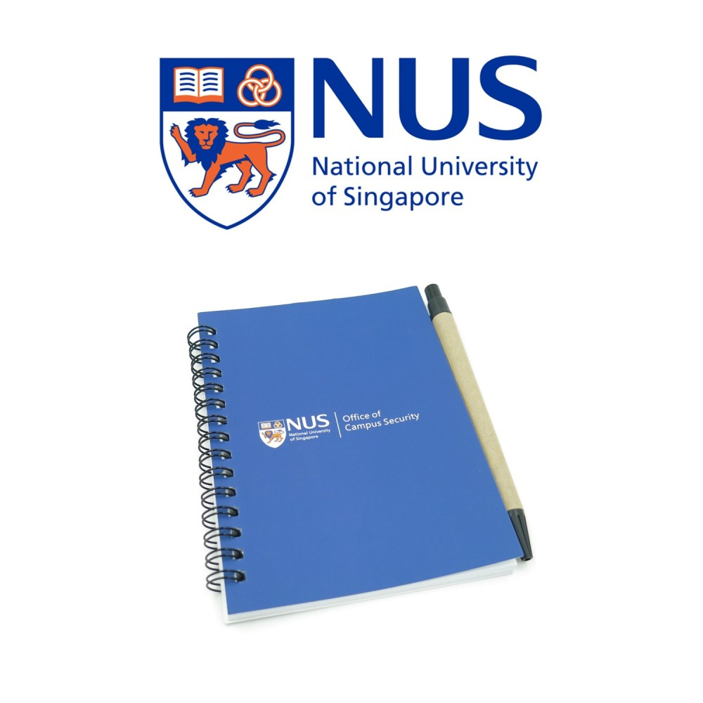 NUS - O-ring Notebook with Pen - Simplicity Gifts - Corporate Gifts Singapore - simplicitygifts.com.sg (1)