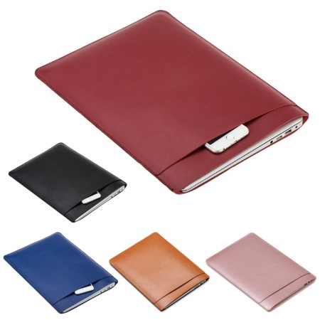 Premium Leather Laptop Sleeve - Simplicity Gifts - Corporate Gifts Singapore - simplicitygifts.com.sg