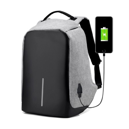Rimo USB Anti Theft Laptop Backpack - Simplicity Gifts - Corporate Gifts Singapore - simplicitygifts.com.sg