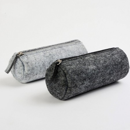 Tube Felt Stationery Case with Zip - Simplicity Gifts - Corporate Gifts Singapore - simplicitygifts.com.sg