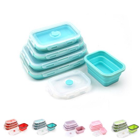 Classic Foldable Silicone Lunch Box - Simplicity Gifts - Corporate Gifts Singapore - simplicitygifts.com.sg (1)