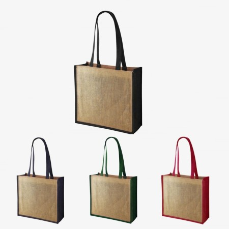 Quad Jute Bag - Simplicity Gifts - Corporate Gifts Singapore - simplicitygifts.com.sg