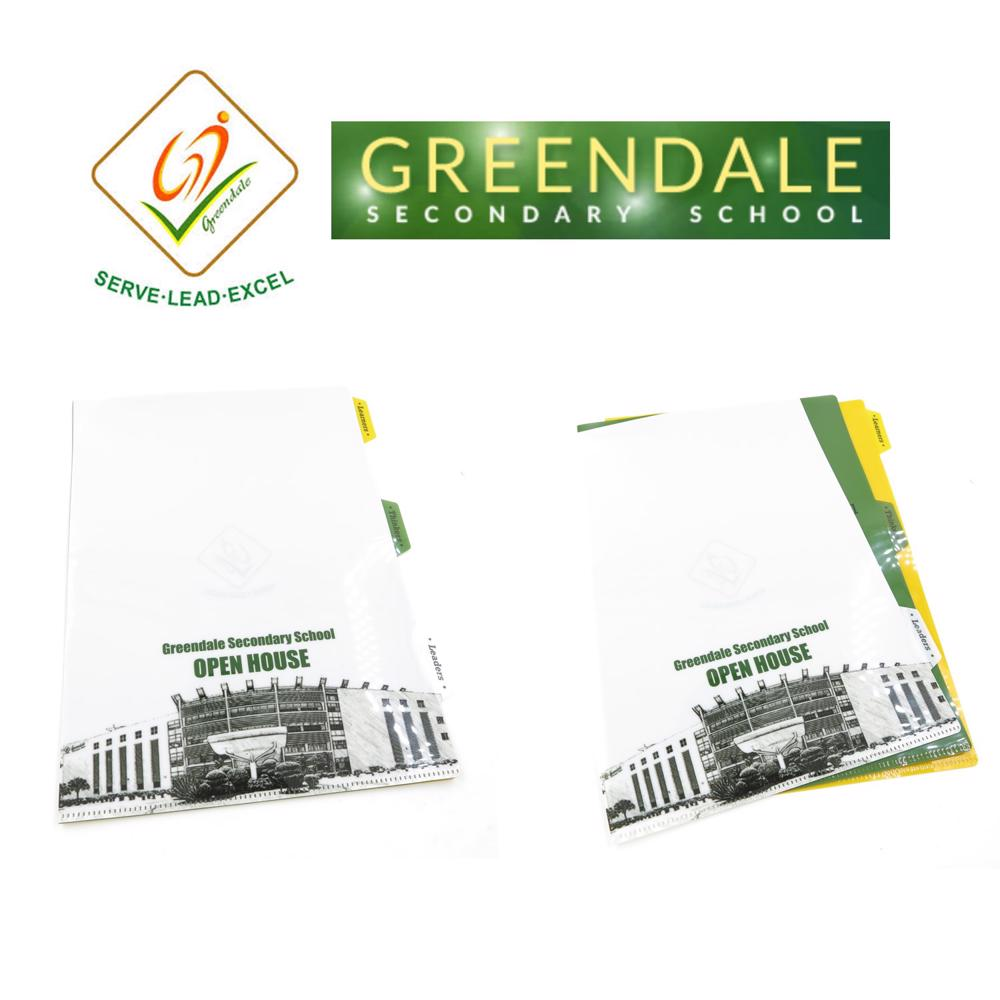 Greendale Sch Sch - Customised Stackable L-Shaped Folders - Simplicity Gifts - Corporate Gifts Singapore - simplicitygifts.com.sg (1)