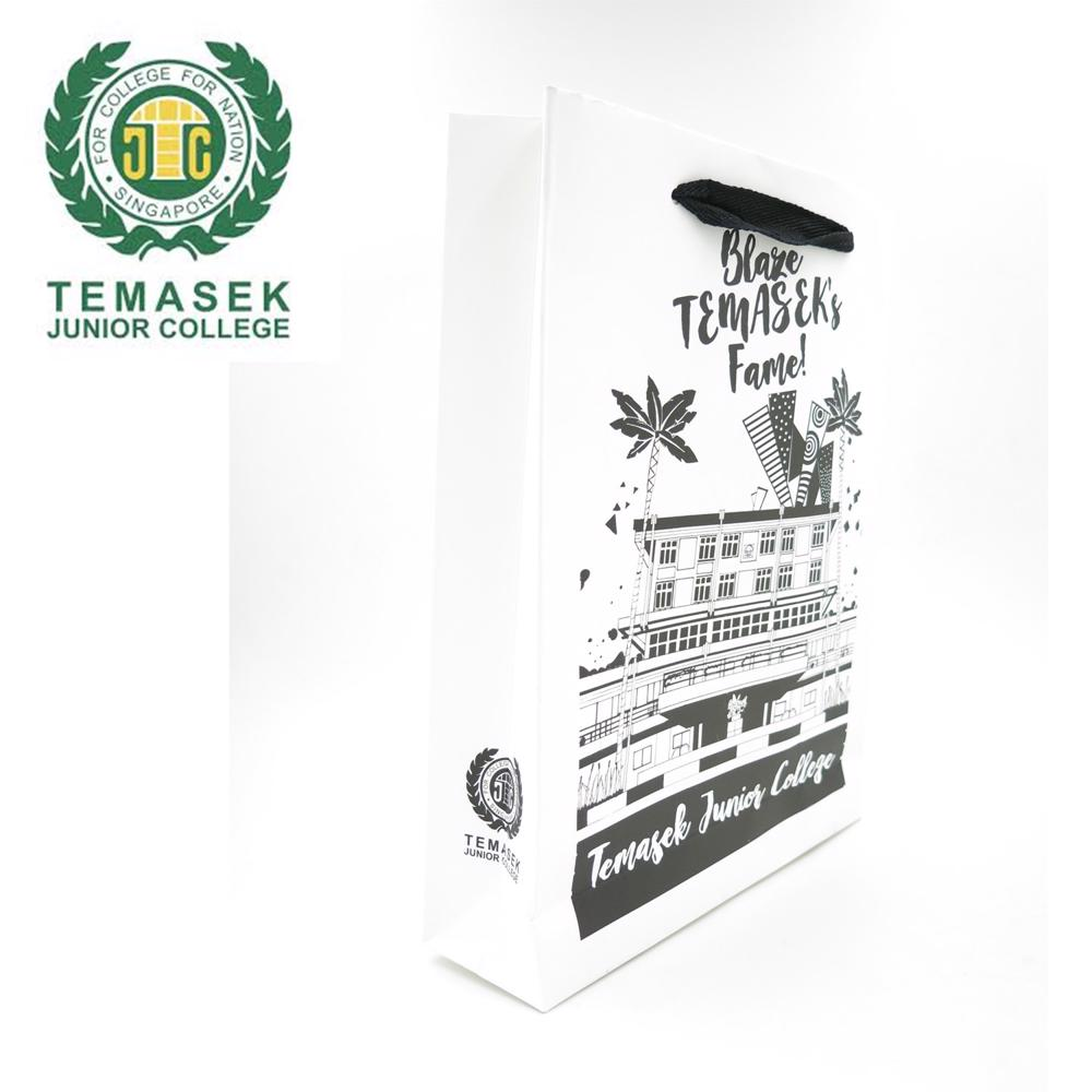 Temasek JC - Environmental Paper Bag Singapore - Simplicity Gifts - Corporate Gifts Singapore - simplicitygifts.com.sg (1)